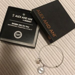 Alex and Ani Jewelry - Alex and Ani Bracelet Sigma Delta Tau